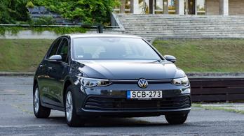 Teszt: Volkswagen Golf VIII. 1.5 TSI Live – 2020.