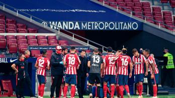 Az Atlético még mindig nem utazott el a BL végjátékára