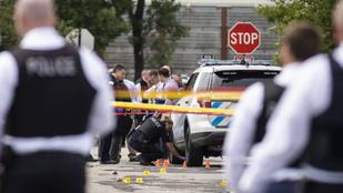Lövöldözés és fosztogatás volt Chicagóban, több mint száz embert tartóztattak le