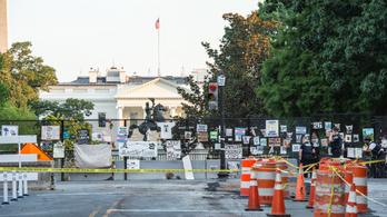 Lövések a Fehér Háznál, Trump megszakított egy sajtótájékoztatót