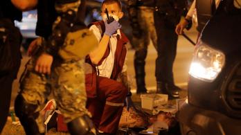 Meghalt egy tüntető Minszkben