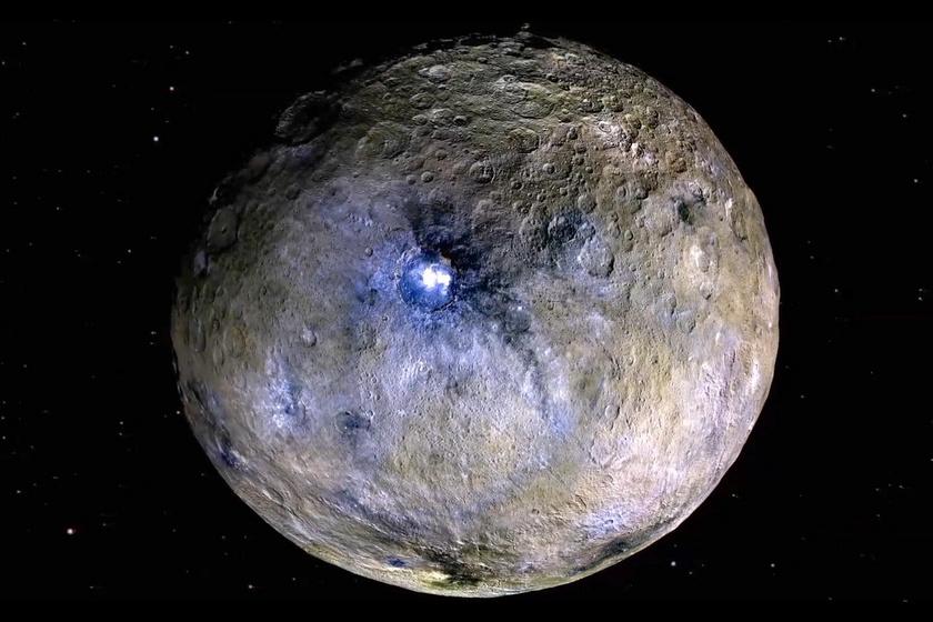 Földi ásványra bukkantak a rejtélyes törpebolygón - Tengervízből származhat
