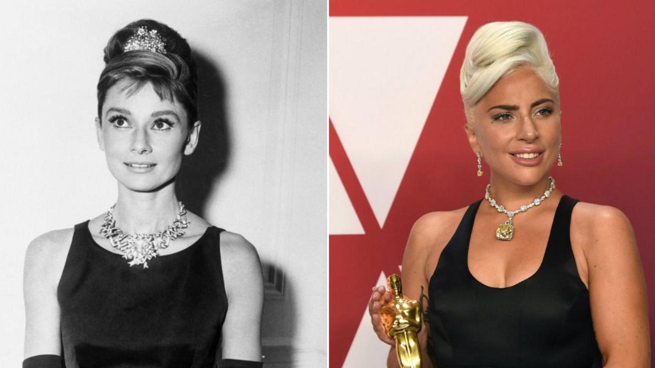 A híres gyémánt története, amit Lady Gaga előtt utoljára Audrey Hepburn viselt
