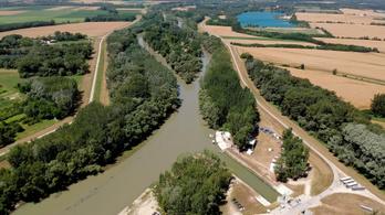 Határidőre el fog készülni a Mosoni-Duna torkolati szakaszának vízszint-rehabilitációja