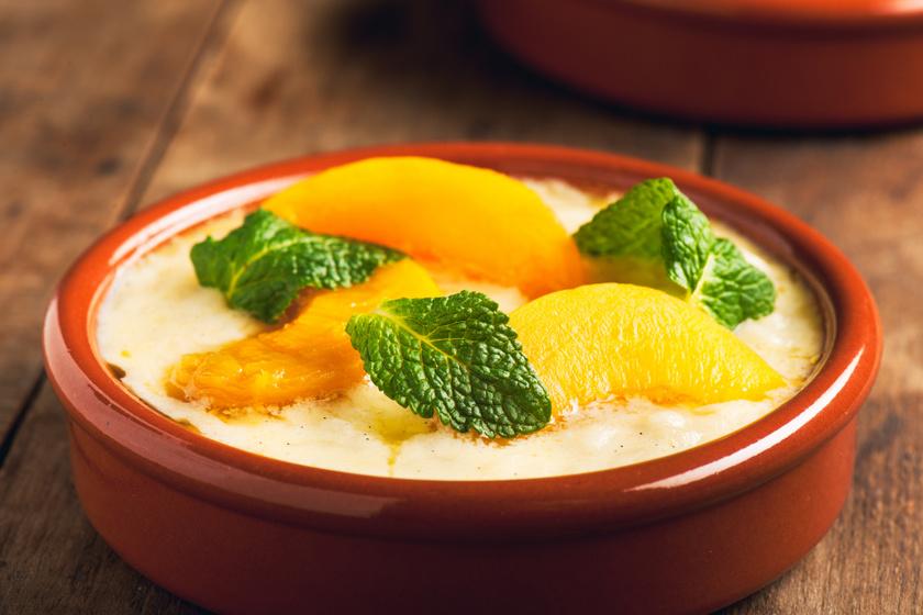 Mennyei barackos tejberizs a sütőből: a törökök így szeretik
