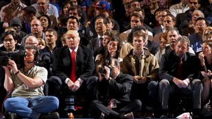 Donald Trump szerint néhány kosaras nagyon gonosz és buta