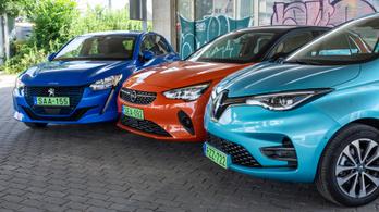 Összehasonlító: Opel Corsa-e, Peugeot e-208, Renault Zoé 135 – 2020.