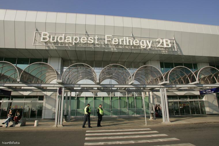 Liszt Ferenc Nemzetközi Repülőtér - akkor még Ferihegy, 2005-ben.