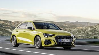 Elkészült az új Audi S3-as