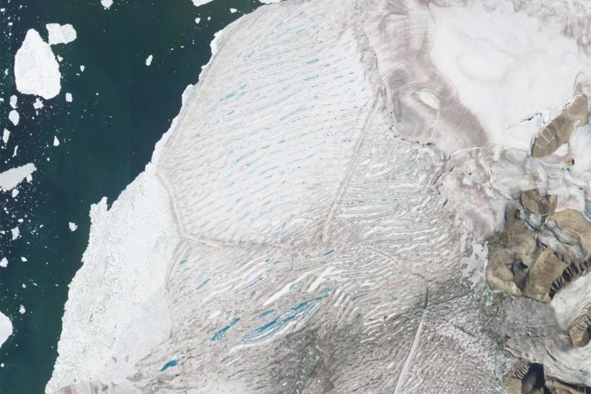 Szomorú természeti jelenséget rögzítettek a műholdak: történelmi pillanatban készült a kép