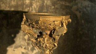 3D technológiákkal készült el egy 12. századi gyertyatartó másolata