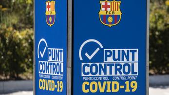 Koronavírusos a Barcelona egyik játékosa, de a BL-meccs nincs veszélyben