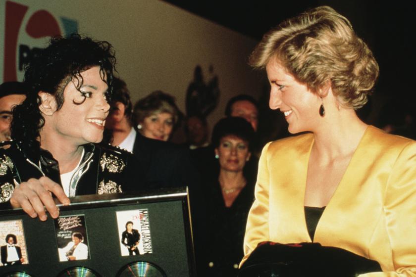 Michael Jackson ezért került kínos helyzetbe, amikor Diana hercegnővel találkozott