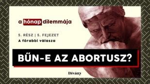 A hónap dilemmája: Bűn-e az abortusz? A főrabbi válasza