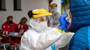Koronavírus: Ausztriában többhetes rekordon az új fertőzöttek száma