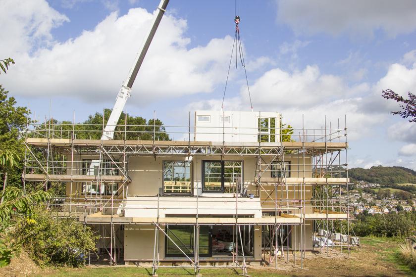 ház építkezés külváros