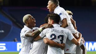 Drámai, 93. perces fordítással BL-elődöntős a PSG