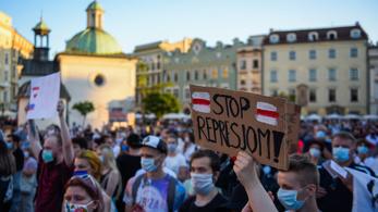 Meghalt egy második Lukasenko-ellenes tüntető is Belaruszban