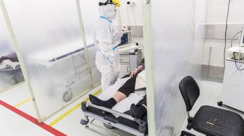Meghalt két beteg, 45-tel nőtt az új fertőzöttek száma