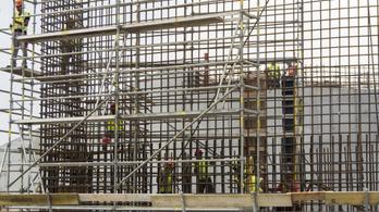 Hatodával csökkent az építőipar teljesítménye