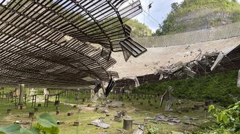 Súlyos károkat szenvedett a világ egyik legnagyobb rádióteleszkópja