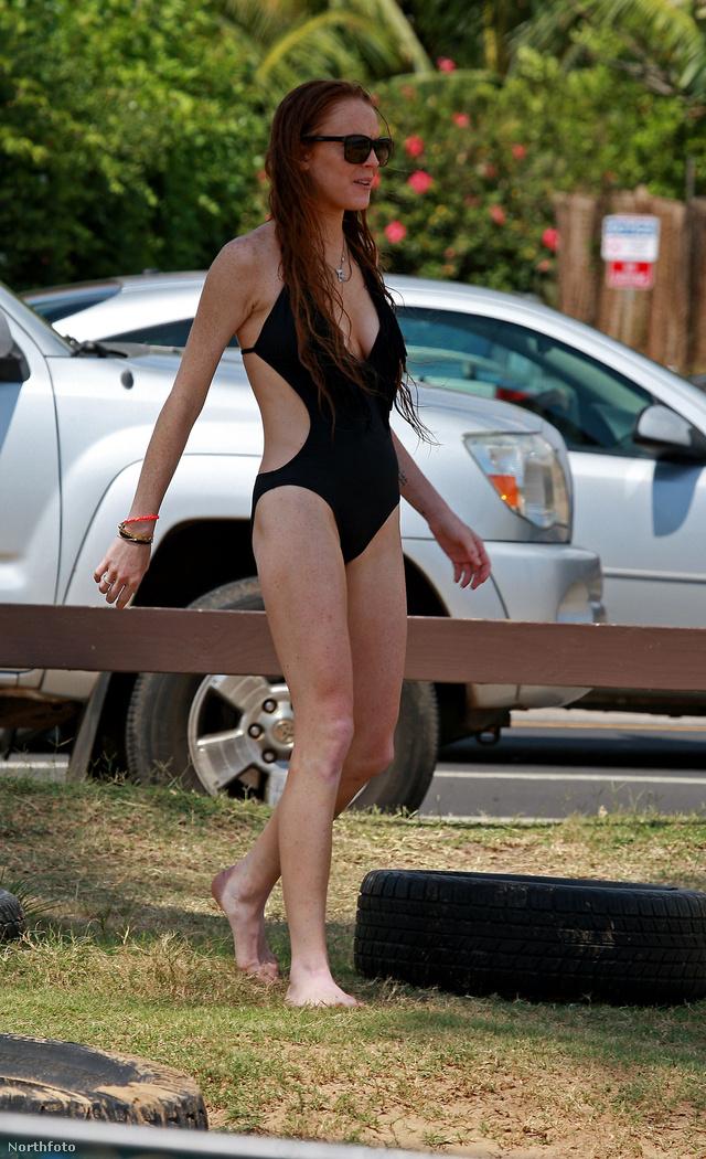 Lindsay Lohan vörösen