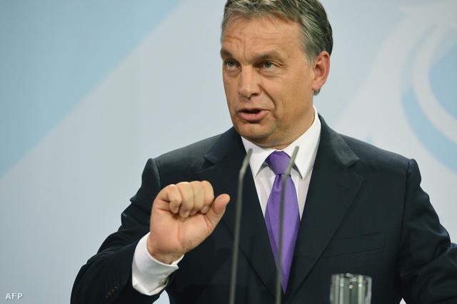 Orbán Viktor Berlinben