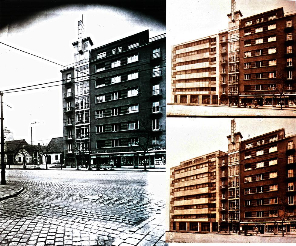 A Margit körút még a harmincas években is olyan volt, mint egy nagyobb falu főutcája, azzal a különbséggel, hogy meglepően sok volt a barokkból buherrá toldozott-foldozott egykori gazdaház. Aztán 1934-ben a főváros házadómentességi rendelettel próbálta segíteni egyes elmaradottabb területek fejlesztését, és pár év alatt eltűntek a földszintes házak és helyette Bauhaus bérházakat húztak fel.
