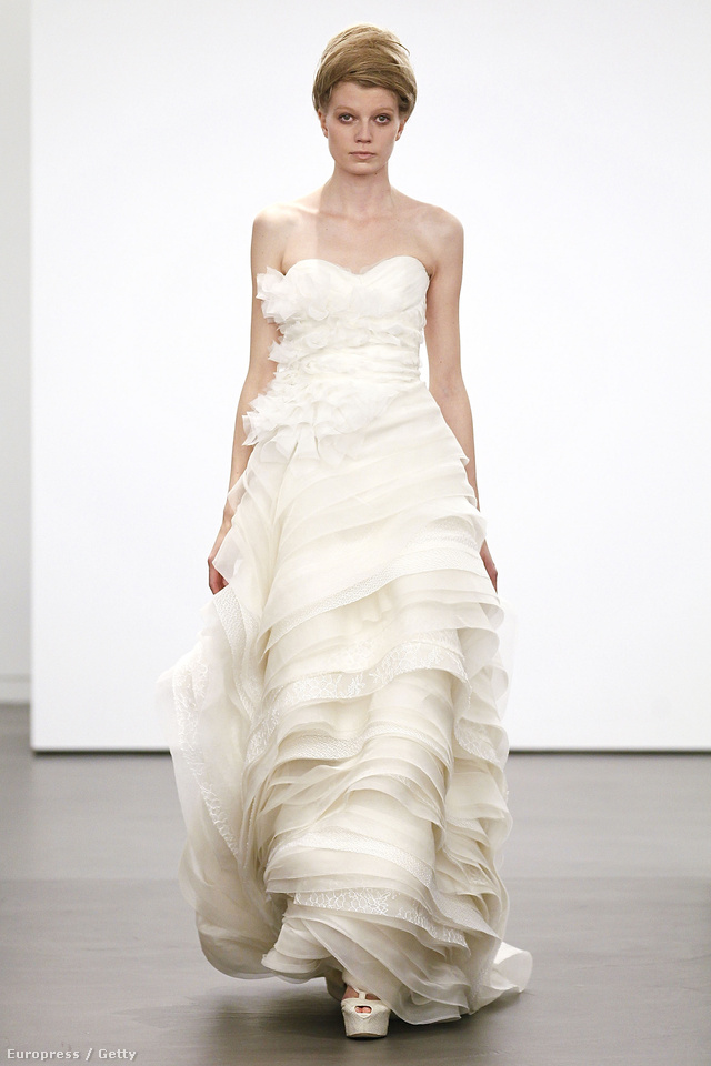 Vera Wang menyasszonyi ruha 2013-ra