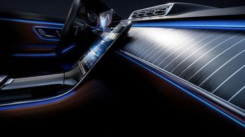 A Mercedes belsőtér-forradalomról beszél