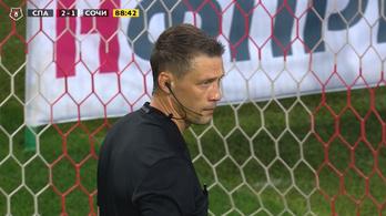Az orosz futballbírók főnöke, Kassai Viktor elismerte, hibás döntés született