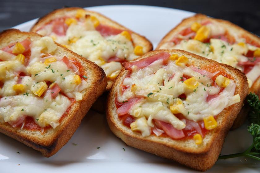 pizza kenyérből recept