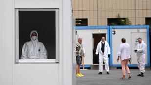 Újabb rekordot döntött az új napi koronavírus-fertőzöttek száma Németországban