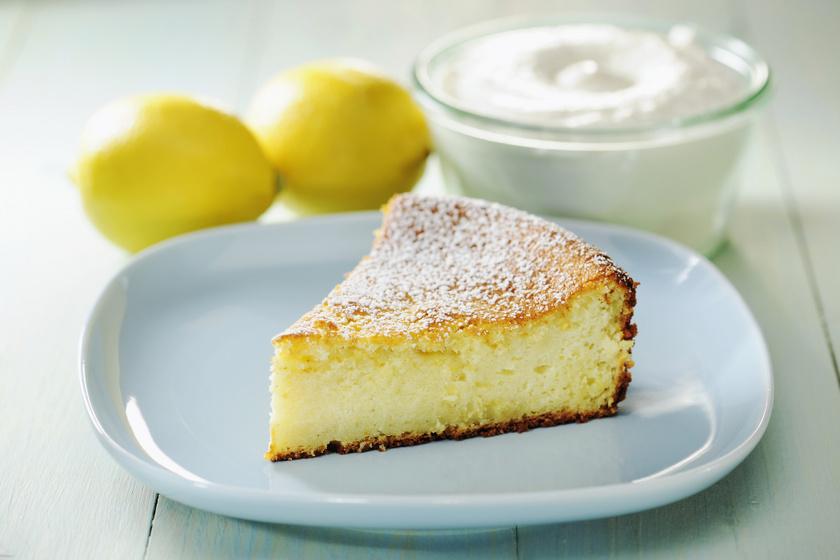 Ricottás, citromos kevert süti: finom puha és nem szárad ki
