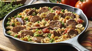 Csirkés-kolbászos paella – Egyszerűbb összedobni, mint gondolnád!