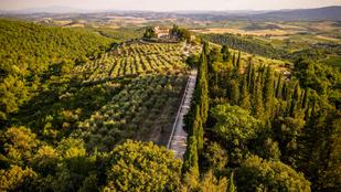 Tessék, ámuljon el Olaszország leghíresebb borvidékéről készült drónfotókon