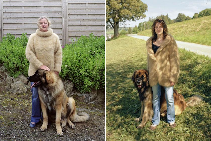 Ugyanabból a kutyafajtából ki puha garbót, ki kabátot köt magának.