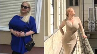 Fásy Zsüliett megmutatta magát: 41 kilót fogyott