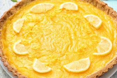 Selymes, citromkrémes pite jó sok töltelékkel – Kellemes fanyarsága a melegben is jólesik