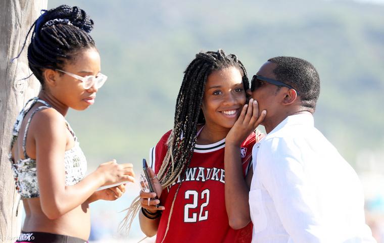 Samuel Eto'o jelenleg Saint-Tropez-ban üdül a családjával.