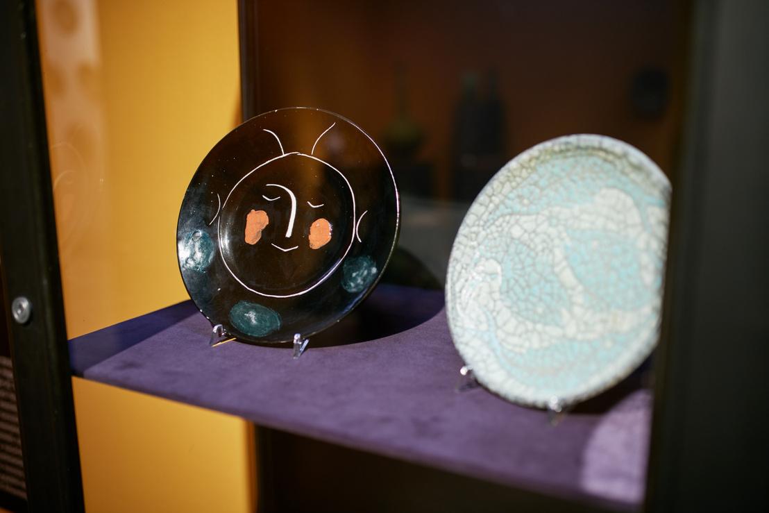 Picasso fekete fejes tányérja egy budapesti magángyűjteményből