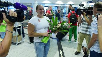 Gyereket vár a magyar atlétika első világbajnoka