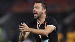 Xavi: Január óta nem keresett a Barcelona