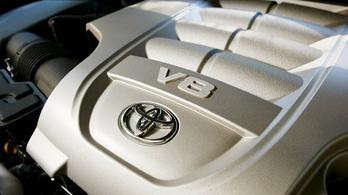 Nem lesz több nyolchengeres Toyota motor?
