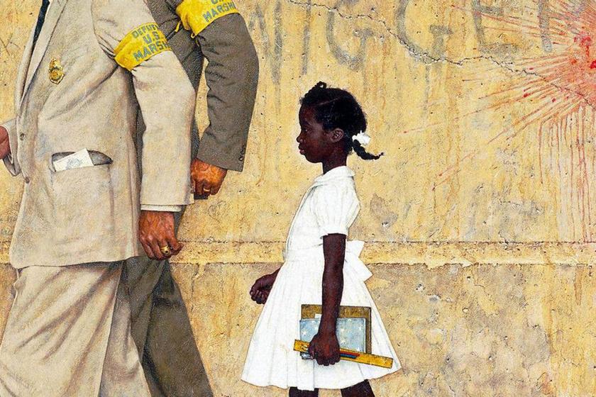 Norman Rockwell: A probléma, amivel mind együtt élünk című festmény