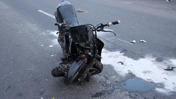 Meghalt egy motoros Nagyigmándon