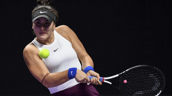 Visszalépett a női címvédő Andreescu a US Openen