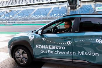 A Hyundai villanyautójával is elmentek 1000 kilométert egy töltéssel