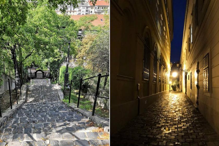 Az ismert látnivalók mellett a Vár báját a kedves, apró részletek adják, például a lépcsők, vagy a macskaköves utcácskák.