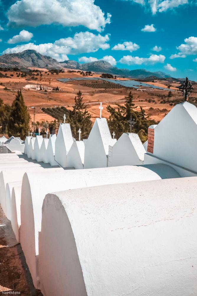 A nemzetközi elismerése csak 26 évvel azután történt meg, hogy 1980-ban a spanyolok már nemzetük épített kultúrájának legjelentősebb tagjai közé sorolta a temetőt.